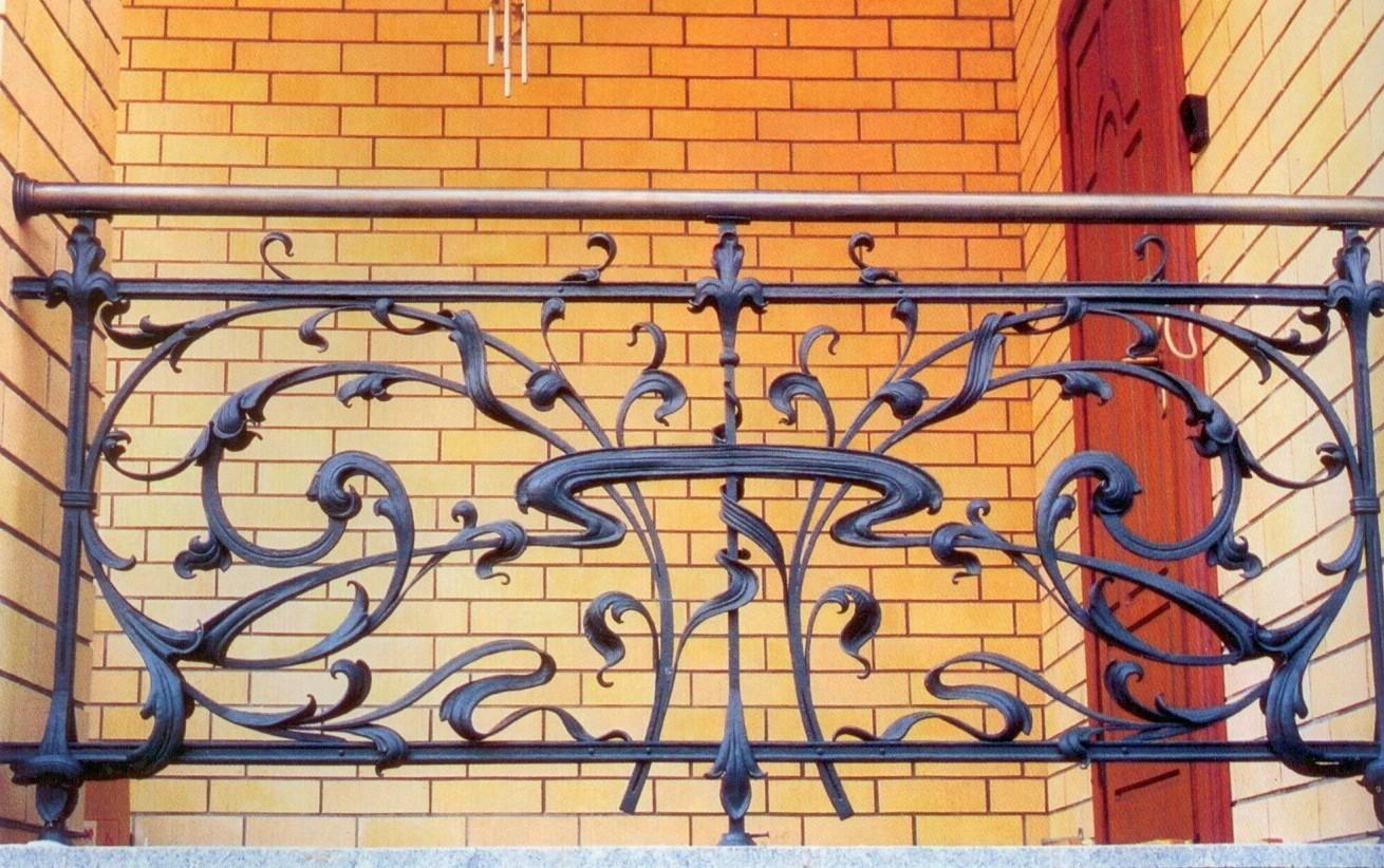 Ограждения балконов и терасс - кованый балкон - изготовление.
